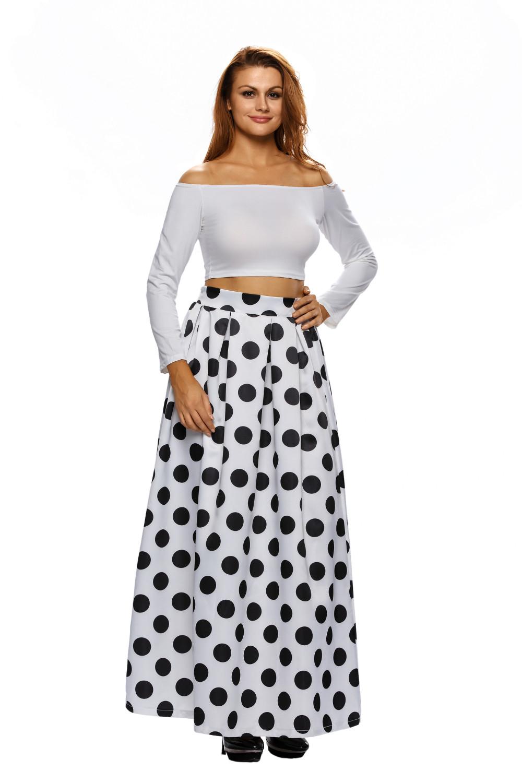 High-Waist-Polka-Dot-Print-Pleated-Maxi-Skirt-LC65019-1-1