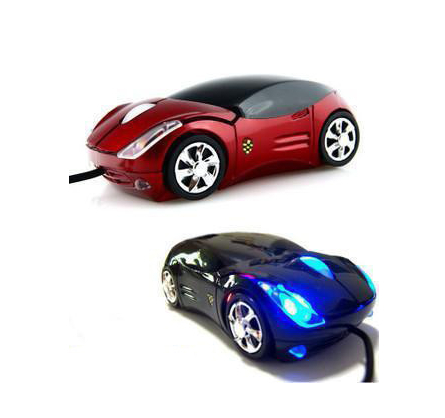 3D car Shape Optical USB Mouse for PC Laptop (black)(China (Mainland))