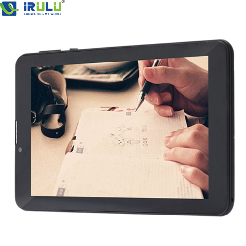 "IRULU 7"" Tablet PC GSM/WCDMA Dual SIM 3G Phablet Android4.4 1024*600 HD GPS WIFI Bluetooth Dual Cam W/ 5 Colors Keyboard Option(China (Mainland))"