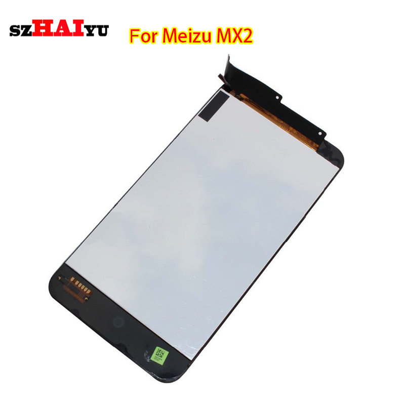 100% Tested Good Working LCD for Meizu MX2 LCD Display+Touch Screen Digitizer Assembly +Tools(China (Mainland))