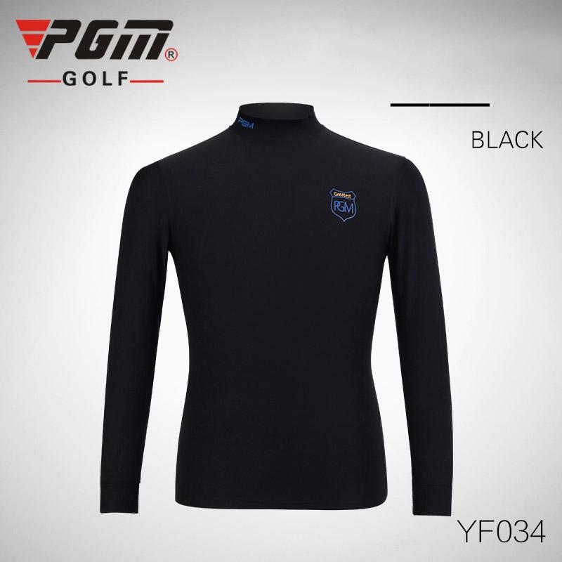 2016 PGM Golf Clothing Men POLO Tshirt Long Sleeve Quick Dry Warm Autumn Winter Golf Shirts for Men Male Apparel Ropa De Golf(China (Mainland))