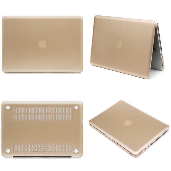 2015 Champagne Gold Sleeves Cover Shell Case For Apple MacBook Pro 13 15 For Mac Book Protector De Pantalla De Cine Laptop Bag(China (Mainland))