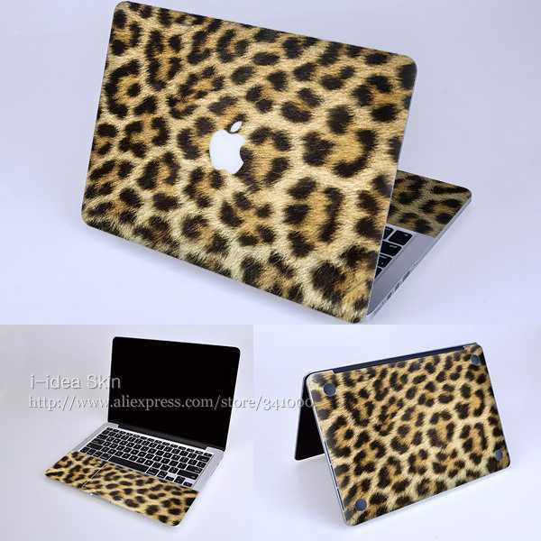 "Decal Skin for Apple Retina Macbook Pro 13.3""inches-leopard print-Super-thin Protector Sticker easy application clean removal"