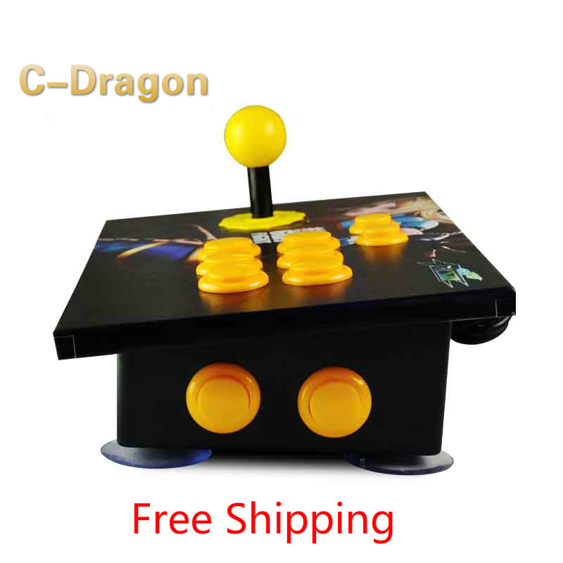 Cdragon USB rocker arcade joystick KOF Street Fighter three and PC mobile phone computer game handle inclined rocker(China (Mainland))