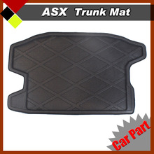 Car Interior Acessiores Tray Boot Liner Trunk Protector Floor Mat Tail Seat Cushion Carpet Fit  Mitsubishi ASX