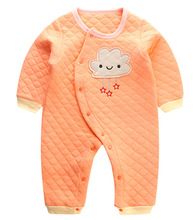 CalaBob Winter Newborn Baby Clothes Long Sleeve Cotton Baby Boy Romper Jumpsuit Baby Girl Overalls Cartoon Infant Clothing (China)
