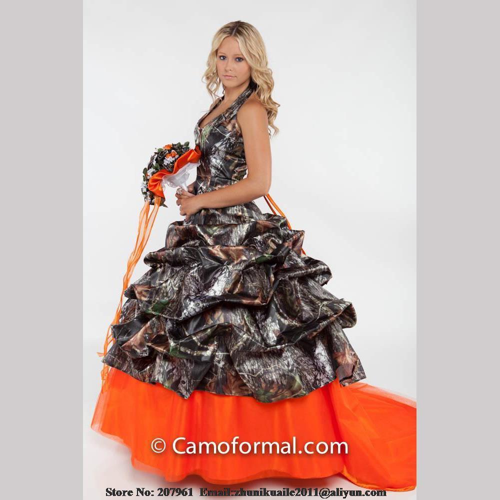 achetez en gros orange bridal gown en ligne 224 des
