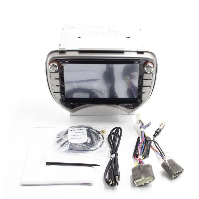 Купить Бесплатная Доставка 7 дюймов Dvd-плеер Автомобиля Gps-навигация Для Nissan Micra 2010 марта 2011 с Bluetooth Ipod 1080 P RDS USB AM FM TV