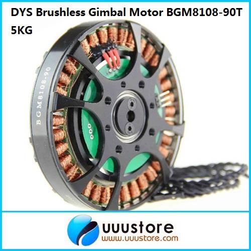 Здесь можно купить  DYS Torque Brushless Gimbal Motor BGM8108-90T 5KG for DSLR Red Epic Camera FPV Aerial Photography  Игрушки и Хобби