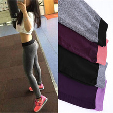 Buy S-XL 4 Colors Fashion Women's Leggings Adventure Time Bodybuilding Workout Clothing Quick Drying Elastic Leggings Women for $5.98 in AliExpress store