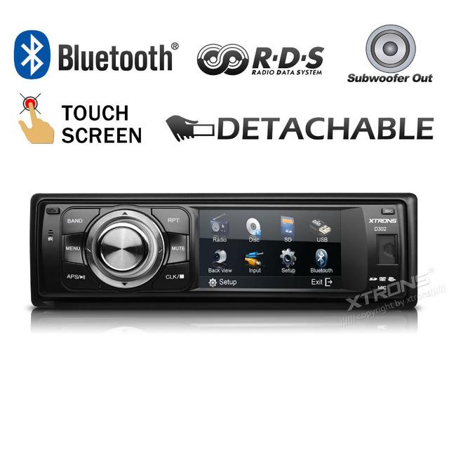 acheter xtrons 3 cran tactile 1 din voiture audio lecteur dvd universal one. Black Bedroom Furniture Sets. Home Design Ideas