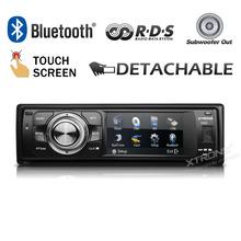 "XTRONS 3""Touch Screen 1 Din Car audio DVD Player Universal One Din Car Audio Detachable Panel Radio dvd automotivo(China (Mainland))"