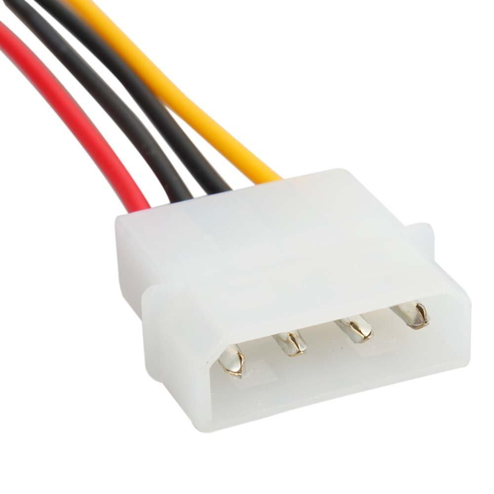 SZS Hot New 4-Pin IDE to 15-Pin SATA HDD Hard Disk Power Adapter Converter Cable(China (Mainland))