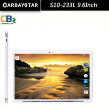 For  He 9.6 Inch metal shell CARBAYSTAR Tablet PC Octa Core Android 5.1 Tablet pcs IPS Screen GPS children laptop 4G LTE