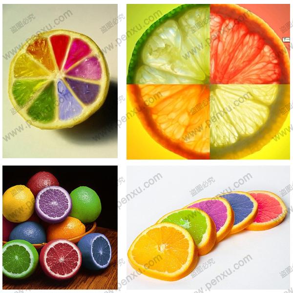 Rare Rainbow Lemon Seeds Organic Fruit Lemon Tree Seeds Home Garden Fruit Plant 100pc Colorful Bonsai
