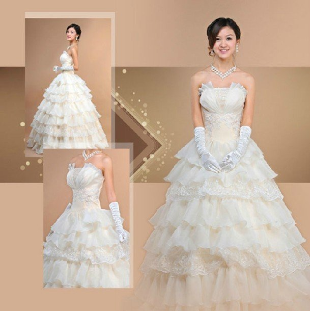 Newest Elegant Sweetheart Off Shoulder Strapless Sleeveless Floor-length Coquille Satin Bridal Wedding Dress,Free shipping!