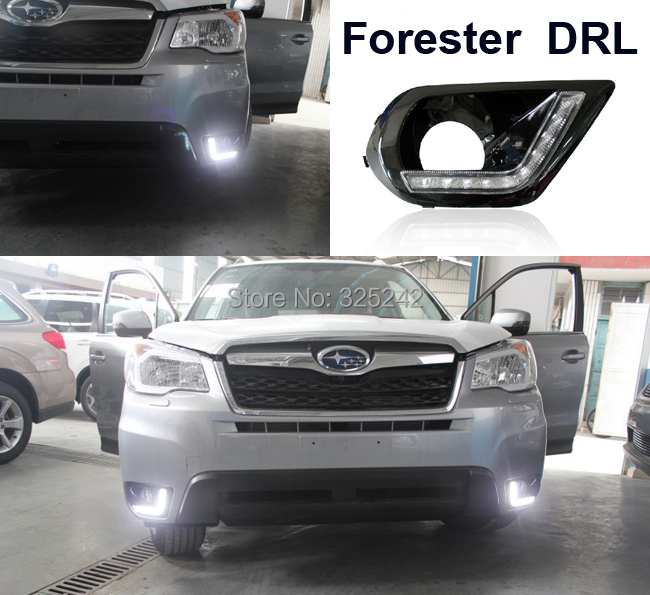 Excellent Ultra-bright illumination LED Daytime Running Light For Subaru Forester 2013 DRL led light