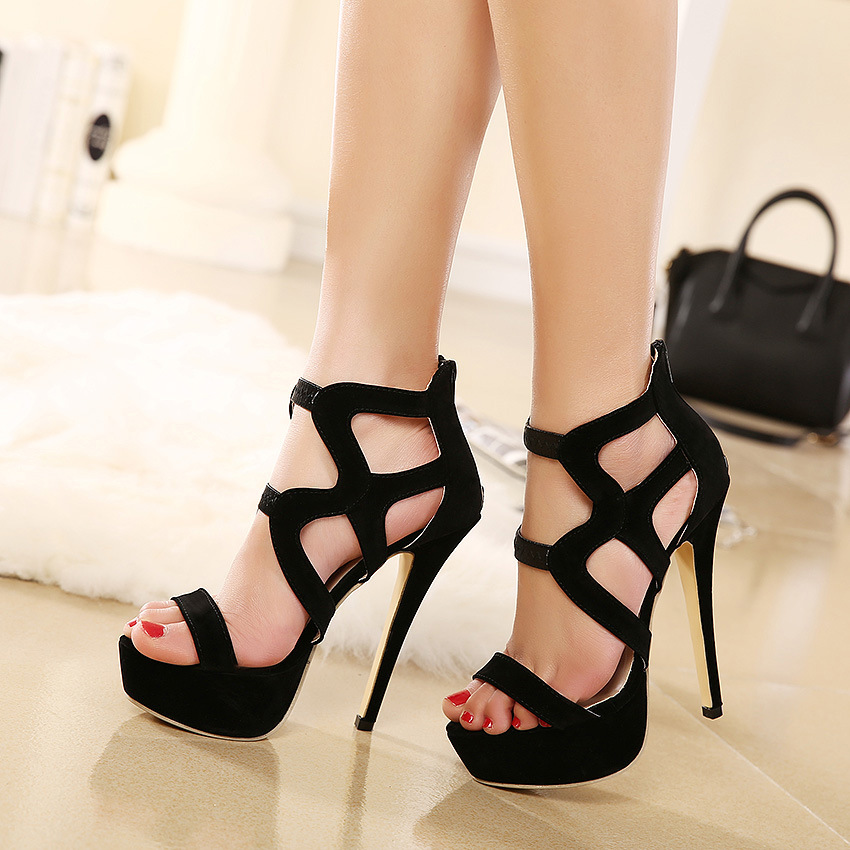 Luxury High Heel Women Shoes Wedges Women Pumps 2015 Zapatos Mujerin Women