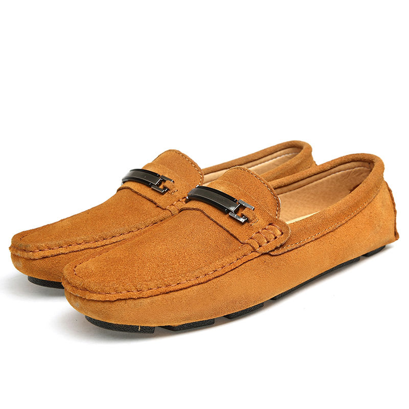 new genuine cow leather flats new fashion