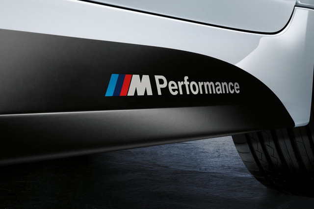 2x Newest Car Decoration ///M Performance Stickers Decals for BMW X1 X3 X5 X6 3series 5 Series 7 Series