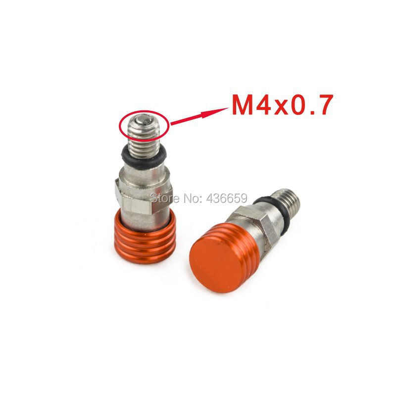 M4x0.7 Fork Air Bleeder Valves For KTM EXC SX SXF XC XCW 250/350/400/450/500/525 530 <br><br>Aliexpress