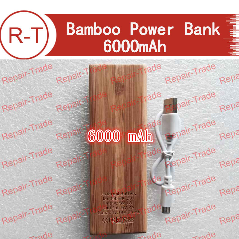 Зарядное устройство Others 6000mah + Bamboo power bank зарядное устройство duracell cef14 аккумуляторы 2 х aa2500 mah 2 х aaa850 mah
