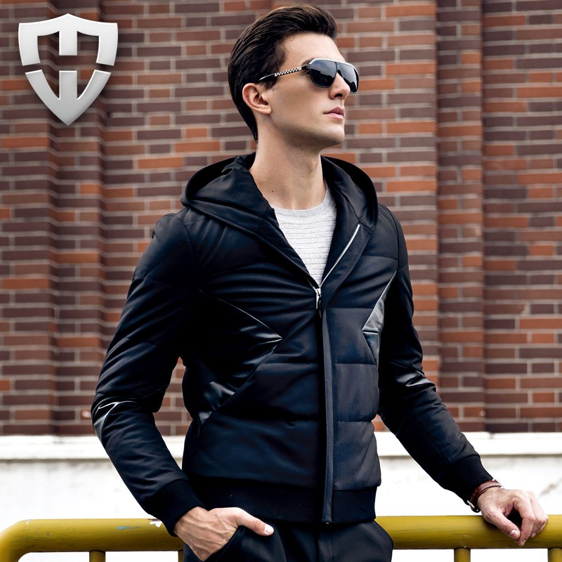 2016 Famous Brand Winter Jacket Men 90% White Duck Down Jacket Parka Men Polos Outdoor Padded Casual Coat Men Down Jacket(China (Mainland))