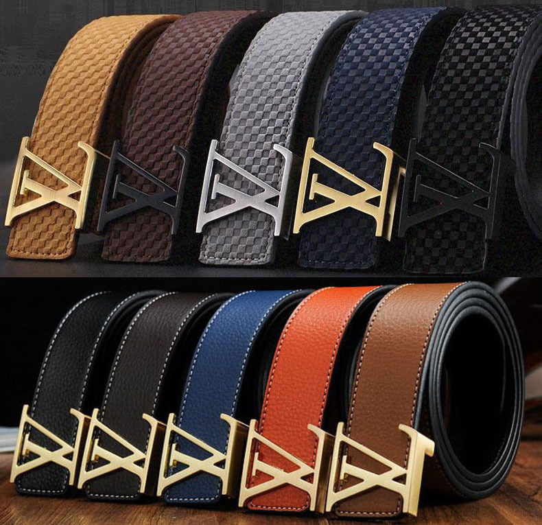 Fashion Brand letter Design mens Luxury belt belts for Women genuine leather Belts for men male and female jeans waistband(China (Mainland))