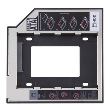 Universal SATA 2nd 9.5mm HDD SSD Hard Drive Caddy for CD/DVD-ROM Optical Bay new hot