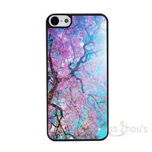 For iphone 4/4s 5/5s 5c SE 6/6s 7 plus ipod touch 4/5/6 back skins mobile cellphone cases cover Cherry Blossoms Tree Branches