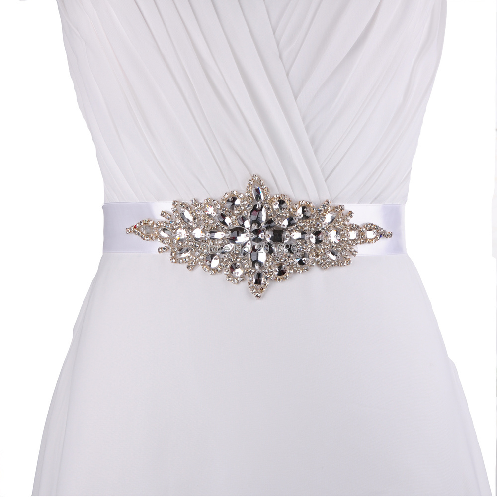 TOPQUEEN S01cheap Designer Belts Rhinestone Bridal Belt Dress Waistband Belt Wedding Belts