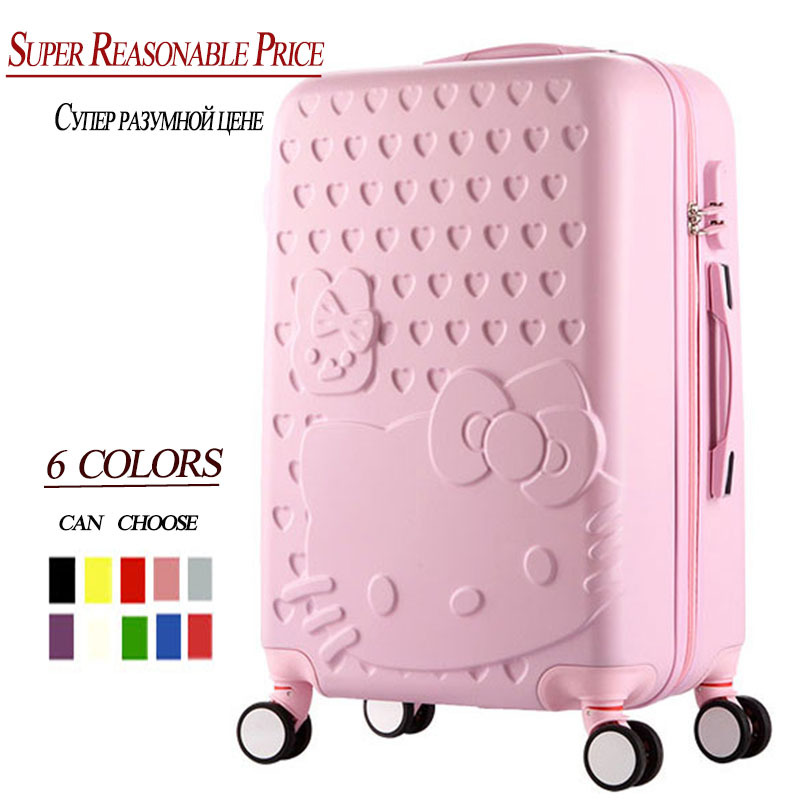 """20""""24""""inch High quality Trolley suitcase luggage traveller case box Pull Rod trunk rolling spinner wheels ABS+PC boarding bag(China (Mainland))"""
