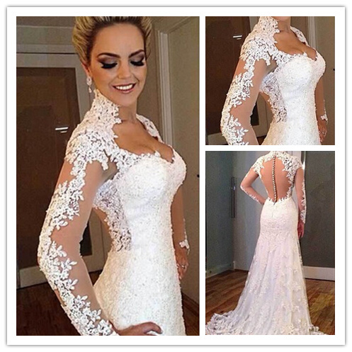 Buy made to order wedding dresses china for Ordering wedding dresses online