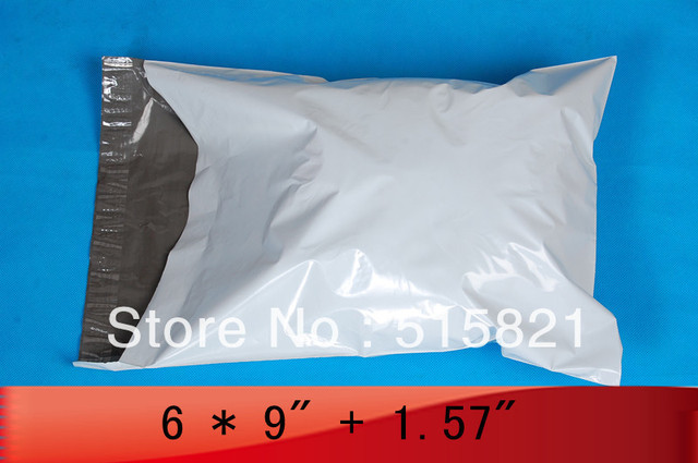 "200PCS- 6"" x 9"" 153mm x 230mm+40mm POLY MAILERS BAGS ENVELOPE"