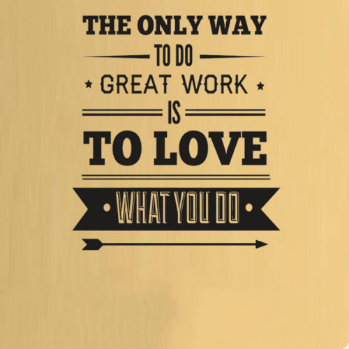 Work Office Inspiration Quote Wall Art Stickers Decals Vinyl Home Room Decor Sho free shipping(China (Mainland))
