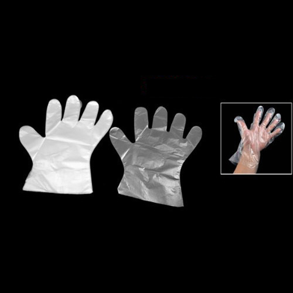 Disposable gloves 100 gloves clean beauty food catering equipment catering beauty chores necessary(China (Mainland))