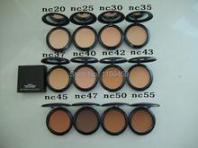hot sale  Pressed Powder makeup Cosmetics Studio Fix Powder Plus Perfect foundation face powder  COLOR 15g  Free Shipping  10pcs(China (Mainland))