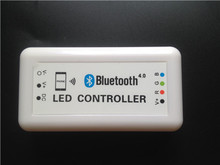 Bluetooth RGB led controller for led strip led module,support Bluetooth version 4.0 ,Iphone 4s or above,Magic LED Light software(China (Mainland))