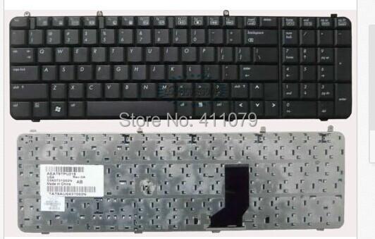 US Keyboard for HP Compaq Pavilion DV9000 DV9100 DV9200 DV9300 DV9400 DV9500 DV9600 Laptop Replacement (K26)(China (Mainland))