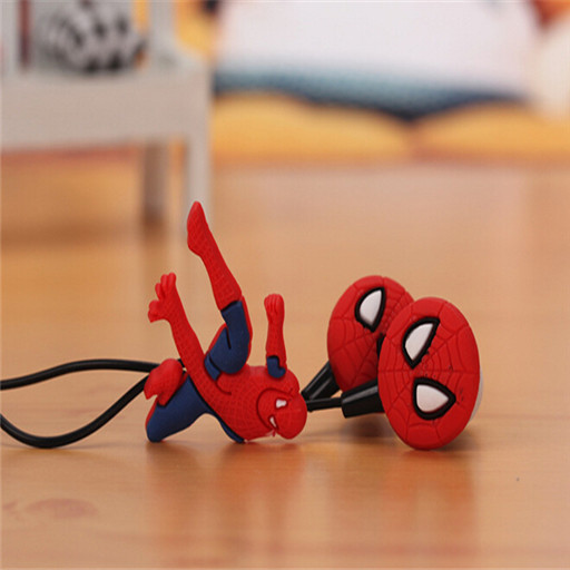 Cool style clearance sale cartoon headphones stereo headset 3.5mm jakefor iphone5 5s Samsung Galaxy mp3 mp4/EO0030