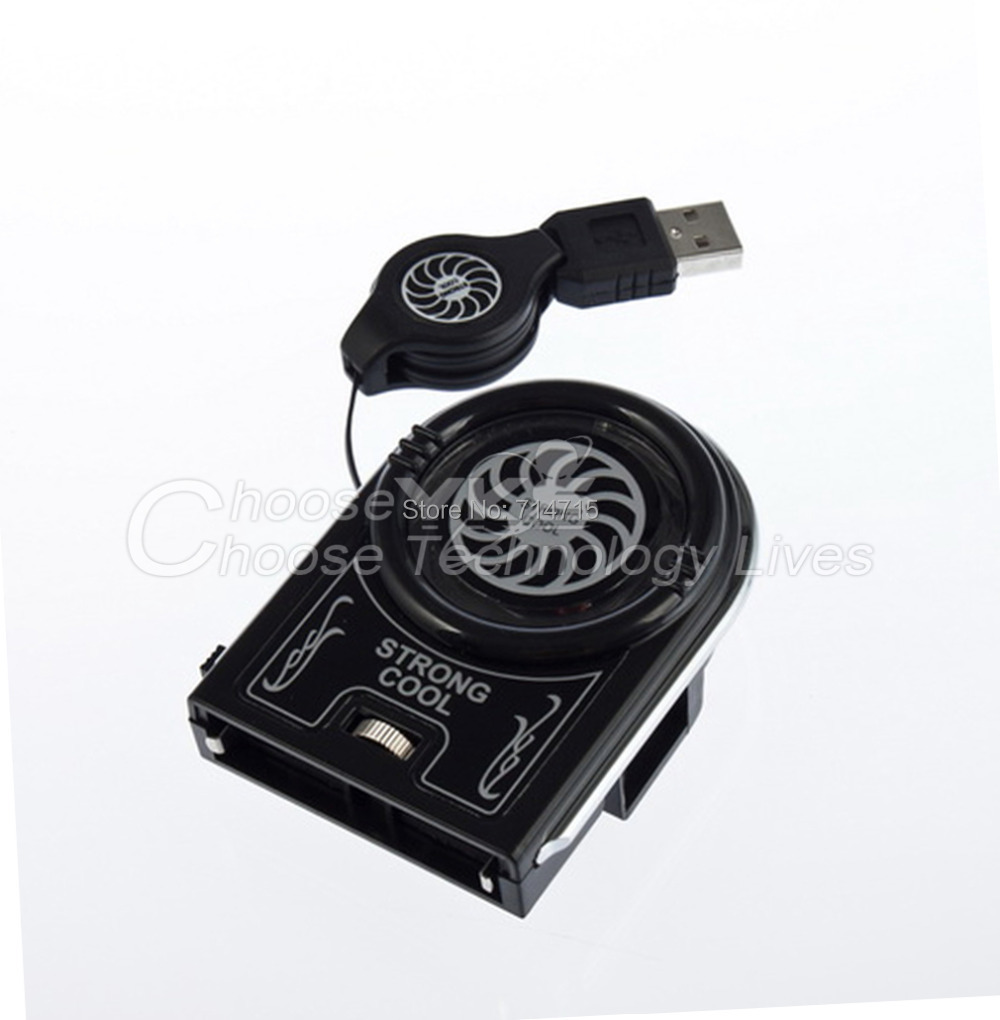 Mini Vacuum USB Cooler Air Extracting Cooling Fan for Notebook Laptop 100% Brand New(China (Mainland))