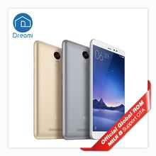 Original Xiaomi Redmi Note 3 Pro Snapdragon 650 Hexa Core 5.5'' 2GB RAM 16GB ROM Note3 4000mAh Google Play Fingerprint ID(Hong Kong)