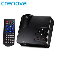 Crenova H80 Portable Mini LED LCD HomeTheater Game Projector Support PC Laptop Full HD 1080P Video With AV/VGA/USB/SD/HDMI(China (Mainland))