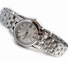 Amantes cítola reloj de mesa comercial informal tabla impermeable de acero breve reloj de cuarzo