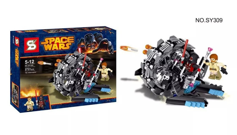 SY309 SY310 SY311 SY312 STAR WARS Vulture Droid Buzz & Pilot Battle Droid Neimoidian Warrior Blocks Sets Compatible With Lego(China (Mainland))