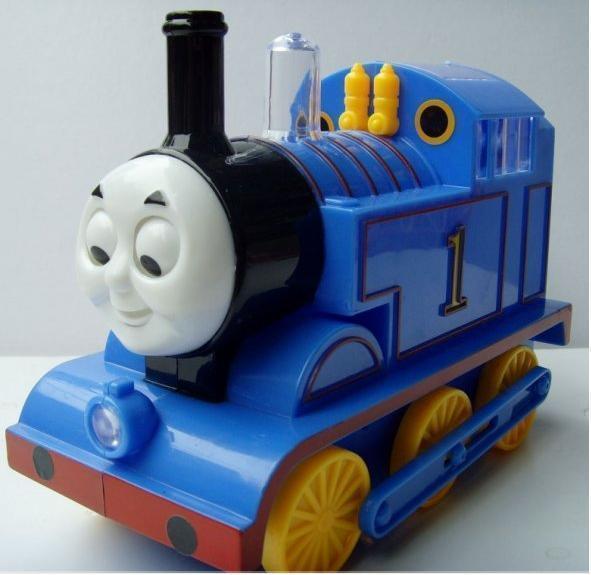 Free shipping Thomas train toys electronic musical mini train toys flashing educational toy(China (Mainland))
