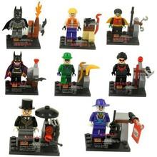 Wholesale SY171 15Lot Building Blocks Super Heroes Avengers Batman Mini figures Heroes Assemble Bricks City MiniFigures Toys
