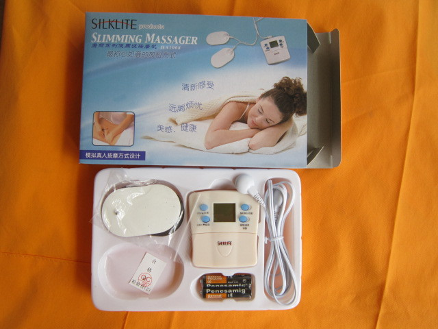 Freeshipping New Portable Mini Body Massager ELECTRONIC MASSAGER ACUPUNCTURE THERAPIST BACK BODY(China (Mainland))