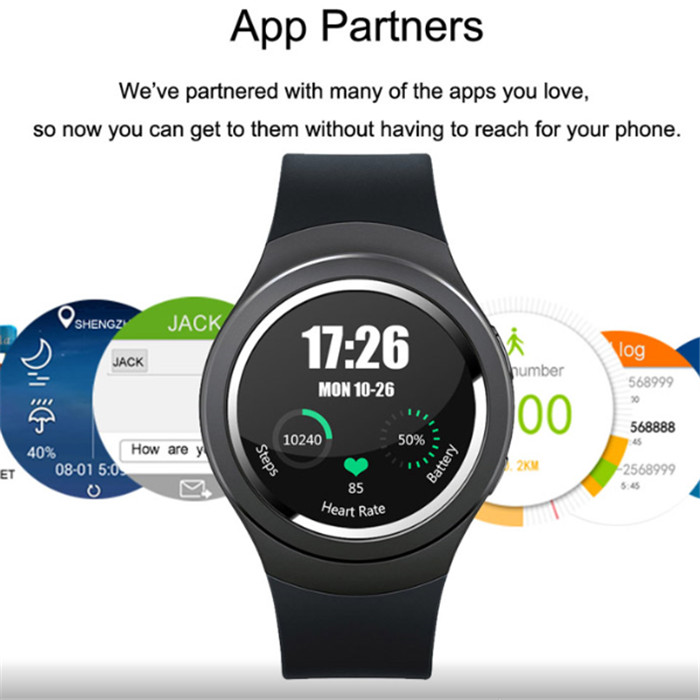 2016 FreeShipping Smart Watch 3G X3 K9 with Android 4 WCDMA WiFi GPS SIM SmartWatch for iOS & Android Heart Rate monitor PK FK18(China (Mainland))