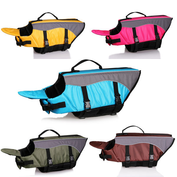 2016 New Dog Life Jacket Life Vest Outward Hound Saver Pet Dog Swimming Preserver(China (Mainland))